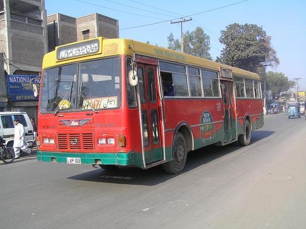 Pakistan bus collision