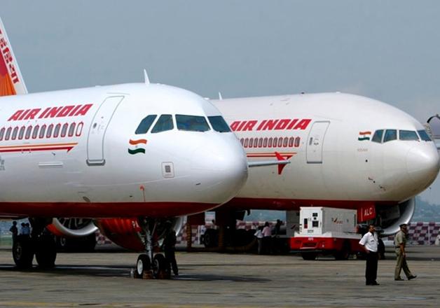 File pic - Air India flights at Mumbai airport.