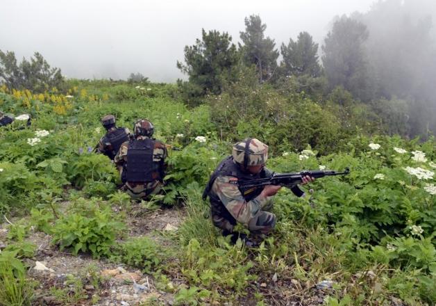 File pic - Indian jawans retaliate to Pak firing along LoC