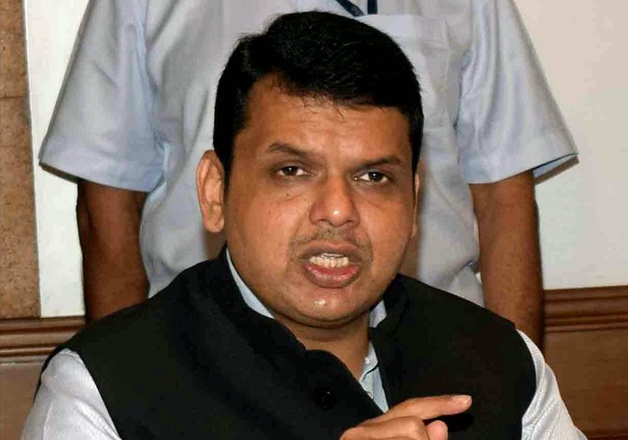File pic - Maha CM Devendra Fadnavis speaks to media in