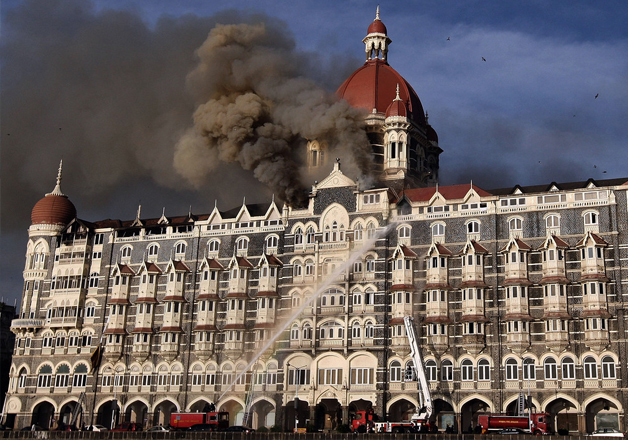 File pic - A view of hotel Taj attacked by Pak militants in