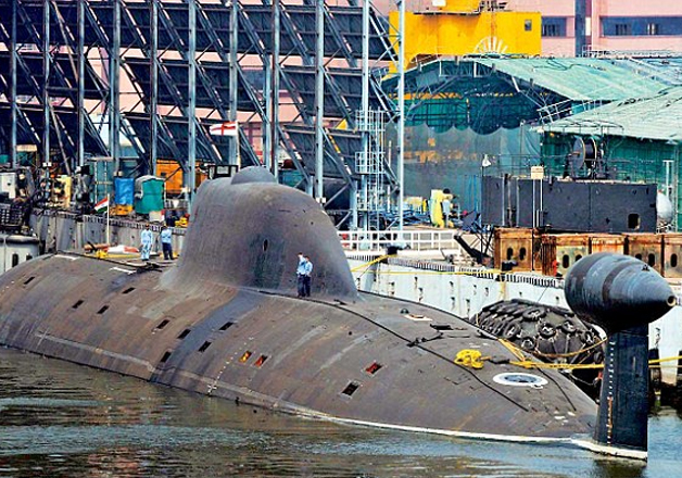 India inducts first armed nuclear submarine INS Arihant