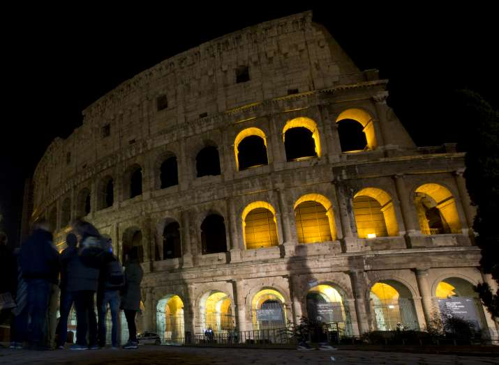 Rome is host to many historical buildings including the