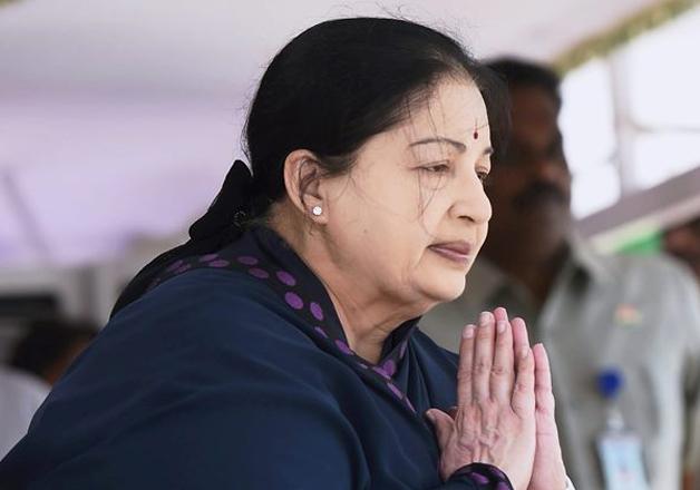 File photo - Tamil Nadu Chief Minister J Jayalalithaa