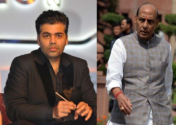 Karan Johar will meet the Home Minister to discuss the