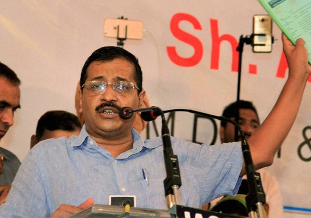 File pic - Delhi CM Arvind Kejriwal