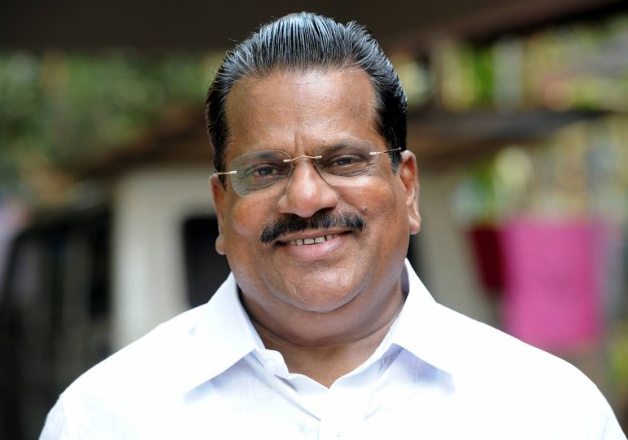 File pic of Kerala Industries Minister EP Jayarajan