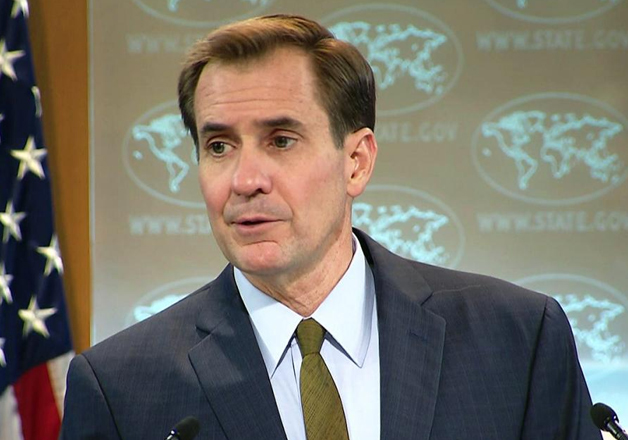 File pic of State Department Spokesman John Kirby