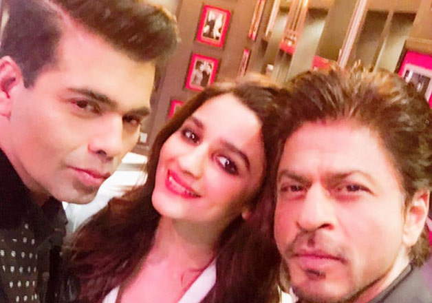 Shah Rukh Khan-Alia Bhatt are the first guest of 'Koffee