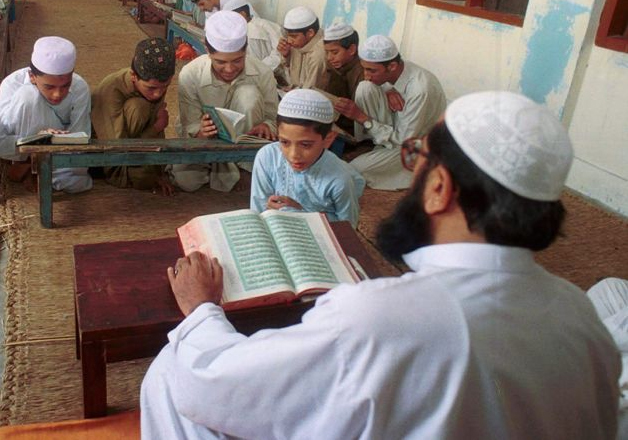 File pic of a Pakistan-based Madrass
