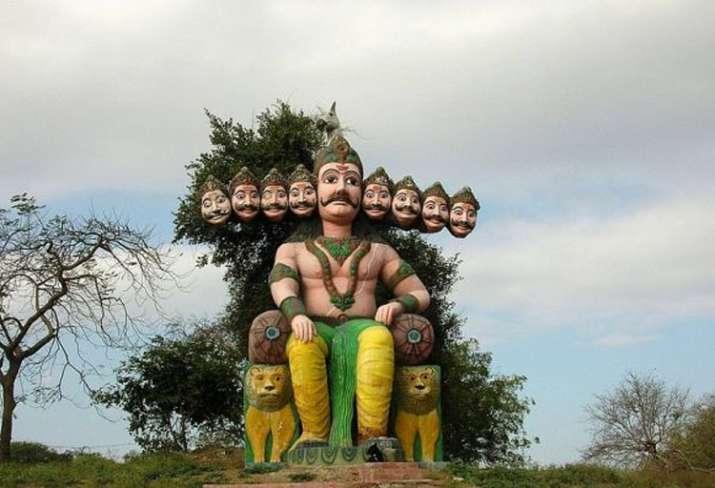 India Tv - Wedding of Ravana and Mandodari took place at an old temple in Mandsaur