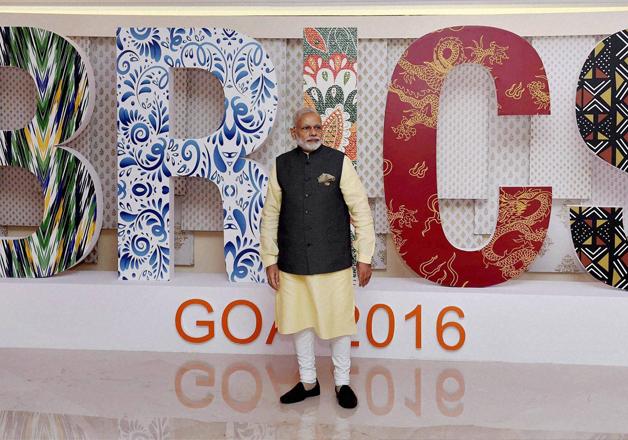 PM Modi at BRICS Summit in Goa