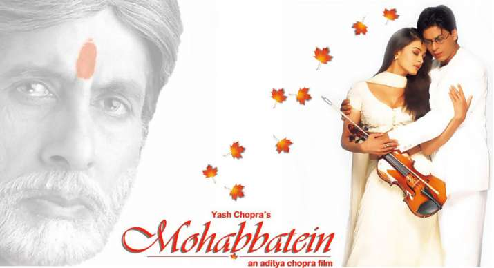 Shah Rukh Khan renders iconic Mohabbatein lines as film completes 20 years