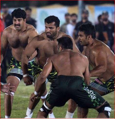 Pakistan Kabaddi team