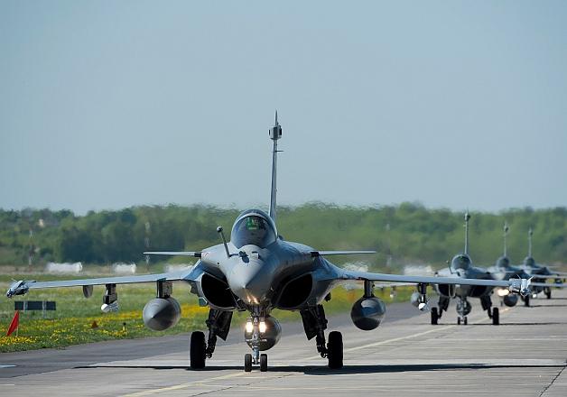 File pic of Rafael fighter jet
