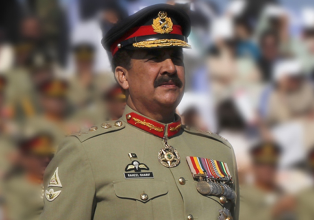 File pic of Pak Army chief Raheel Sharif