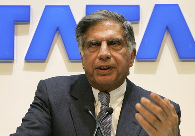 File photo - Ratan Tata speaks at an event in Mumbai