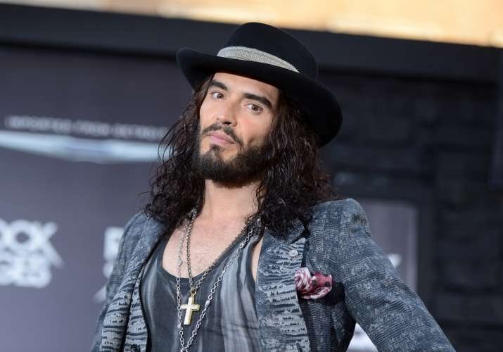 Russel Brand is looking forward to becoming a father