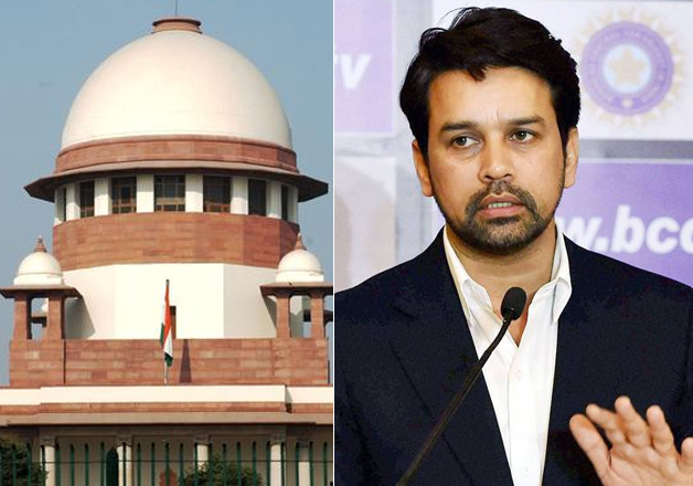 File photo - Supreme Court of India and BCCI president
