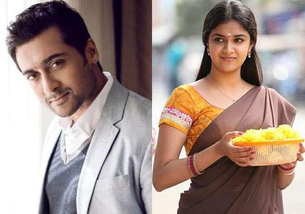 Keerthy Suresh to romance Suriya in 'Thaana Serntha