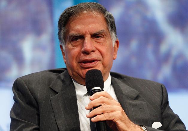 File photo - Ratan Tata speaks at an event in Mumbai