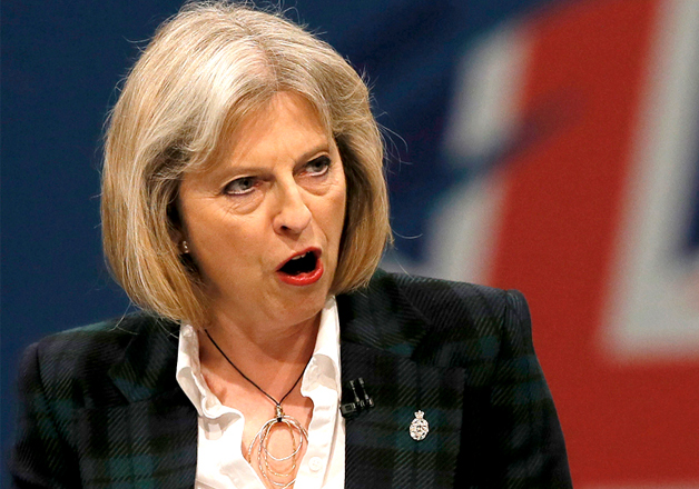 File photo - British PM Theresa May
