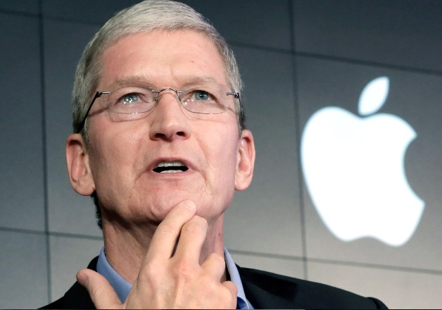 File pic - Apple CEO Tim Cook