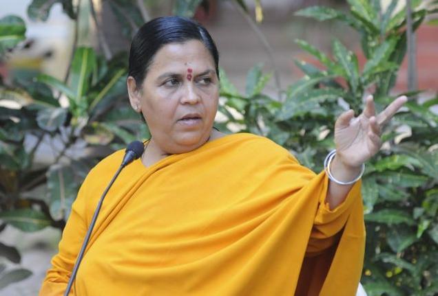 File photo of Uma Bharti
