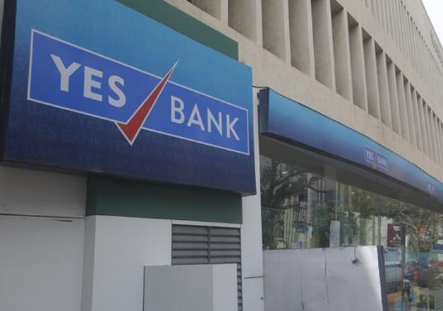 File pic of Yes Bank office in New Delhi