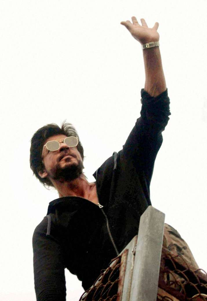 India Tv - Shah Rukh Khan says he is a star because he deserves it