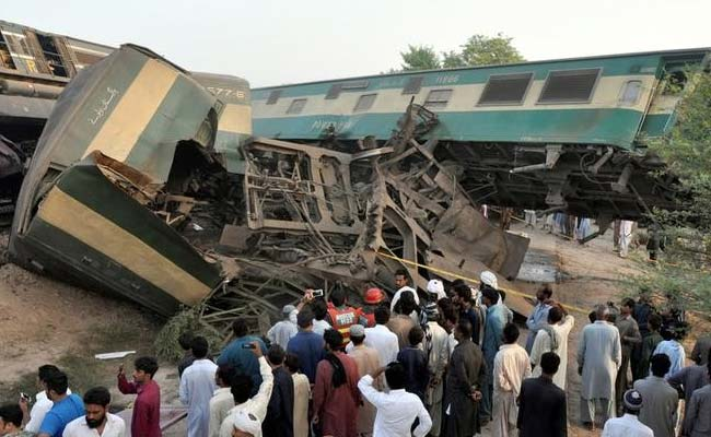 13 killed, 40 injured as passenger trains collide in