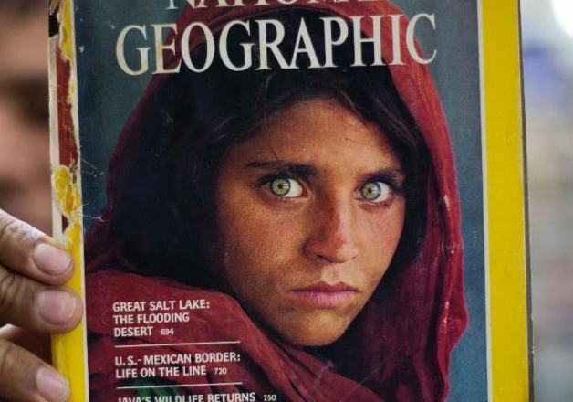 File photo - Pakistan deports iconic National Geographic's