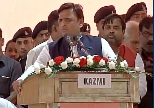 UP CM Akhilesh Yadav addresses SP's silver jubilee