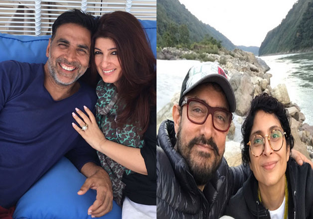 AamirKhan, Akshay Kumar have the best time of their life