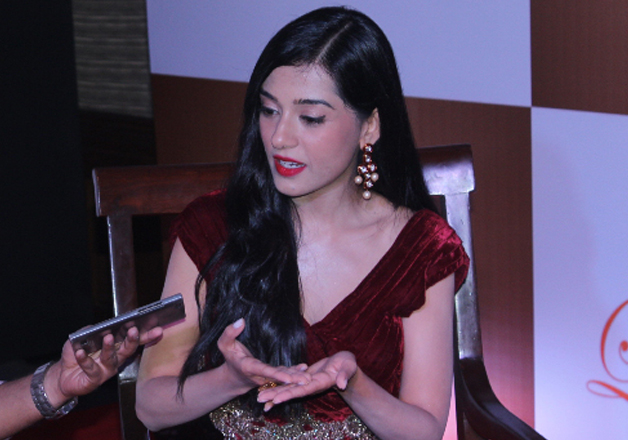 Bollywood actress Amrita Rao at the launch of matrimonial