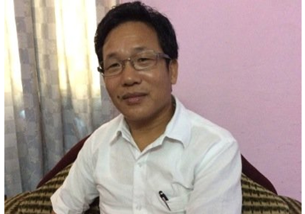 File pic of Bamang Tago, manager of Indian badminton team