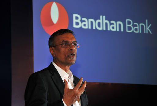 Bandhan Bank CEO Chandrashekhar Ghosh