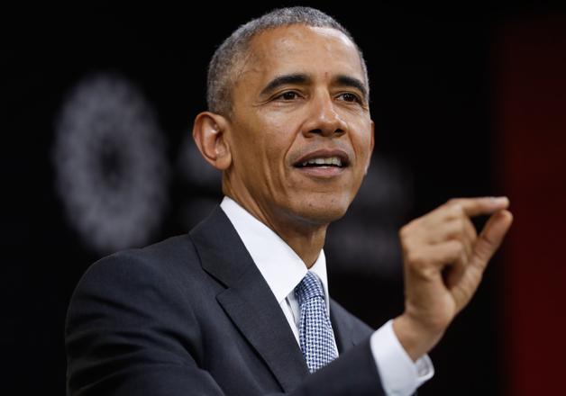 File pic - US President Barack Obama