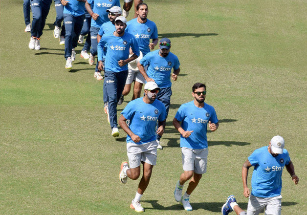 Ahead of first Test against England, Indian players
