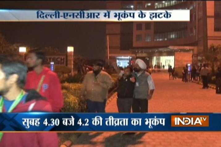 Quake in Delhi-NCR
