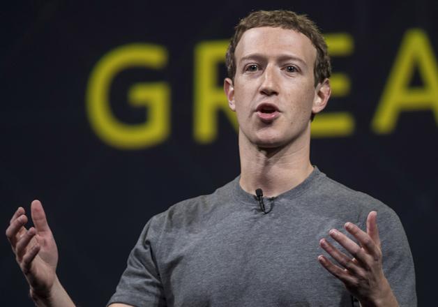 File pic of Facebook CEO Mark Zuckerberg