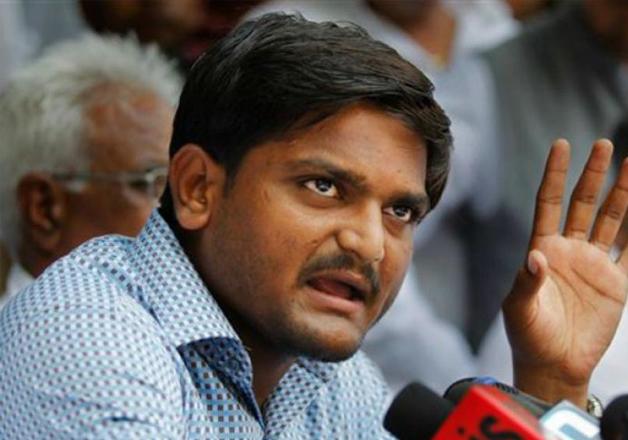 File pic - Patidar leader Hardik Patel
