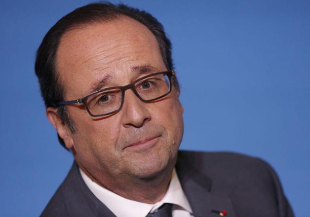 File pic of France President Francois Hollande