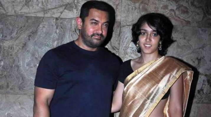 India Tv - Aamir with daughter Ira