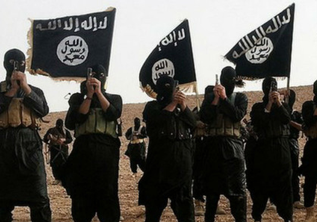 File pic - ISIS militants