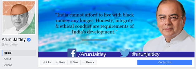 India Tv - Screenshot of Arun Jaitley's FB post