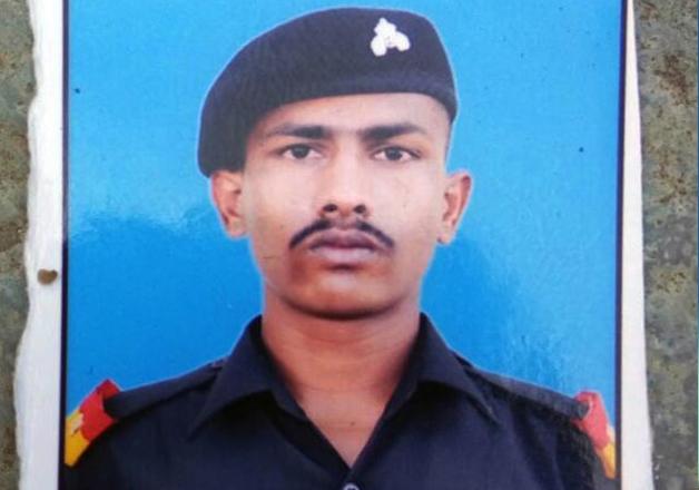 File photo - Indian Army jawan Chandu Babulal Chavan