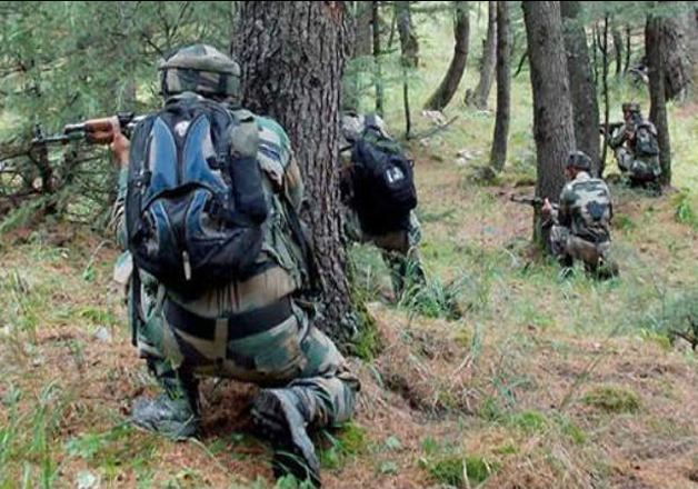 File pic - Jawan martyred, two militants killed in