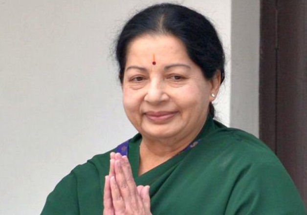 File photo - TN Chief Minister J Jayalalithaa