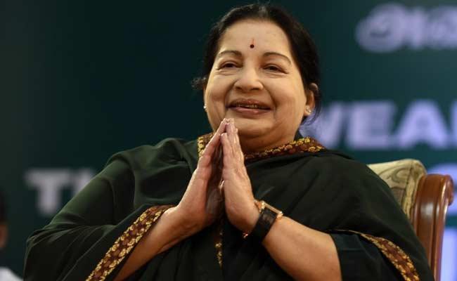 File Photo of Jayalalitha